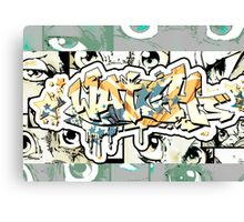 Graffiti Watch Canvas Print