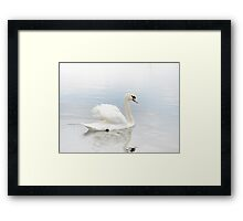 Like a White Cloud Framed Print