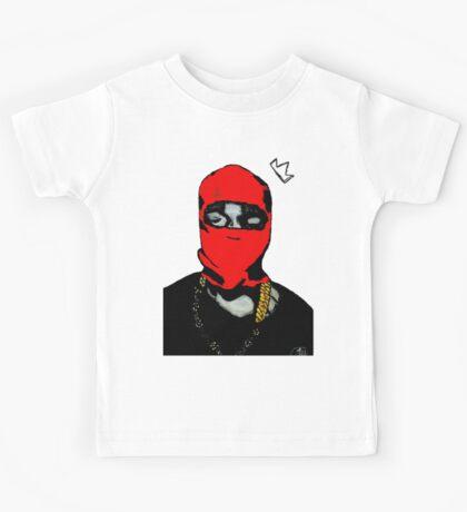 Red Ye (Masked) Kids Tee