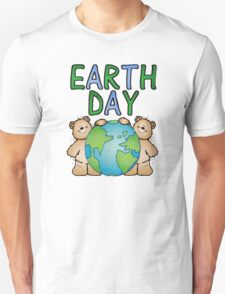Earth Day Bears Unisex T-Shirt