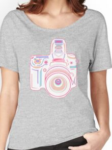 Cute Pastel Camera Women's Relaxed Fit T-Shirt