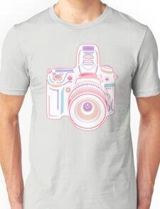 Cute Pastel Camera Unisex T-Shirt