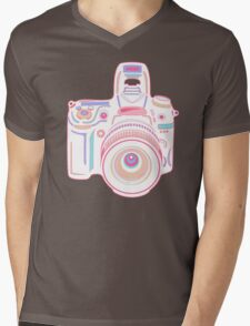 Cute Pastel Camera Mens V-Neck T-Shirt