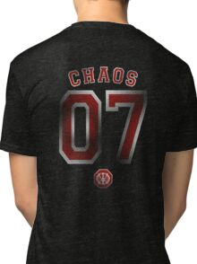 Systematic Chaos 2007 Red Design - Dream Theater Tri-blend T-Shirt