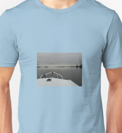 Voyage on Motionless Water Unisex T-Shirt