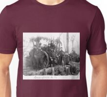 Unpublished 06 (n&b)(t) Non-commissioned officers of the Battery 1915  photographs ever published 1914-1918 war photos and Tribute to my 2 great Uncles Clerté-Fayolle and Eugéne Pellafol died in 1915  Unisex T-Shirt