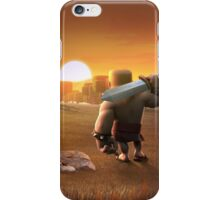 Clash of Clans - Barbarian Sunset iPhone Case/Skin