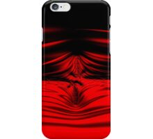 Red Splash iPhone Case/Skin