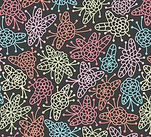 Floral Pattern #48  by tosnos