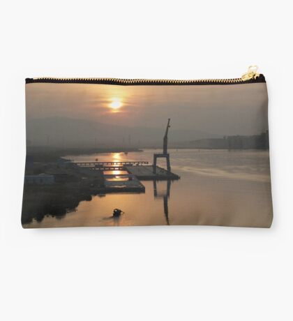 Early Hour on the River Studio Pouch