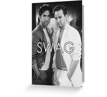 Chandler and Ross // SWAG Greeting Card