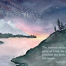 Awe - Psalm 19:1 by Diane Hall