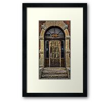 Come Right In Framed Print