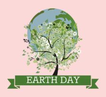 EARTH DAY One Piece - Short Sleeve