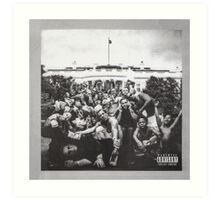 Kendrick Lamar To Pimp A Butterfly  Art Print