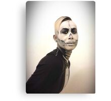 Halloween Skull and Tux Canvas Print