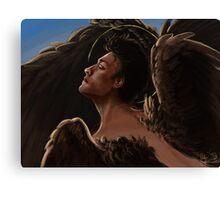 Wild Wings Castiel Canvas Print