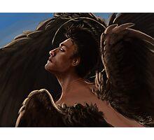Wild Wings Castiel Photographic Print