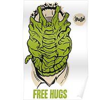 Alien - Free Hugs Poster