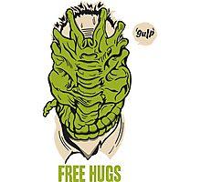 Alien - Free Hugs Photographic Print