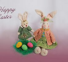 Easter Bunnies by Kathy Weaver