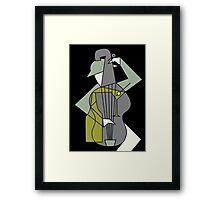 Music&alcohol Framed Print