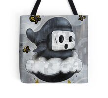 Guy Shyly Tote Bag