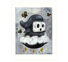 Guy Shyly Art Print