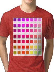 hex chart v1 Tri-blend T-Shirt