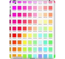 hex chart v1 iPad Case/Skin