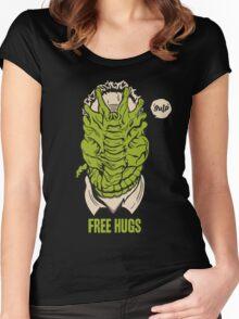 Alien - Free Hugs Women's Fitted Scoop T-Shirt