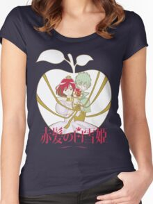 Akagami no Shirayuki-hime (Snow White with the Red Hair) Women's Fitted Scoop T-Shirt