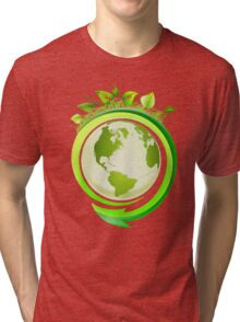 Three R's (Recycle, Reuse, Reduce) Tri-blend T-Shirt