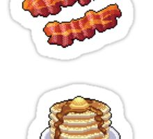 Pixel Breakfast Sticker Set Sticker