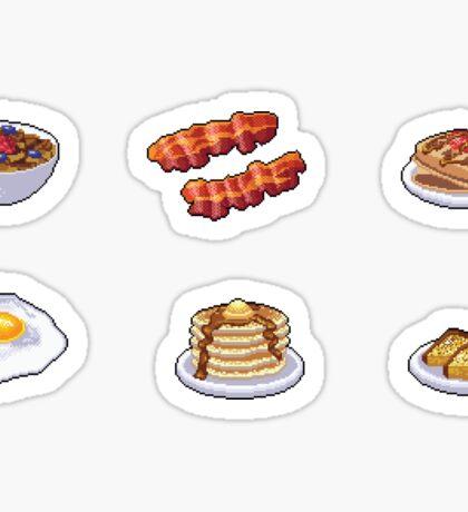 Pixel Breakfast Sticker Set Sticker