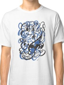 Doodle of the day II – blue version Classic T-Shirt