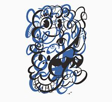 Doodle of the day II – blue version Unisex T-Shirt