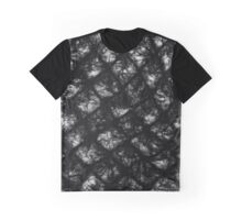 Fuzzy grid Graphic T-Shirt