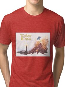 TimeLord of the Rings Tri-blend T-Shirt