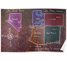 The Four Corners and The Great Basin Poster