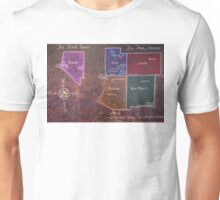 The Four Corners and The Great Basin Unisex T-Shirt