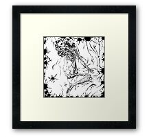 Morbid Marilyn Framed Print