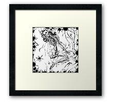 Morbid Marilyn Framed Print