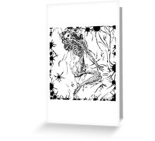 Morbid Marilyn Greeting Card