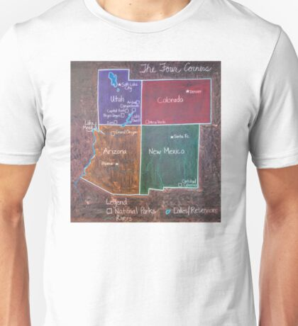 Four Corners Unisex T-Shirt