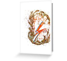 SHINE ON, BOWIE  Greeting Card