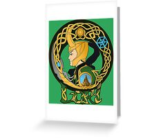 Loki Greeting Card