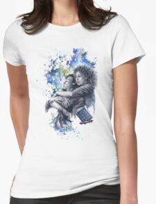 Time and Space Womens Fitted T-Shirt