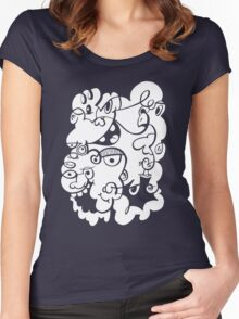 Doodle of the day III Women's Fitted Scoop T-Shirt