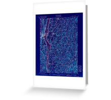 New York NY Rhinebeck 148301 1898 62500 Inverted Greeting Card